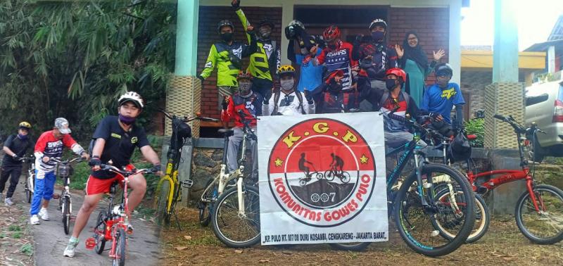 Usai PSBB, Komunitas Gowes Pulo Nanjak ke Gunung Bunder