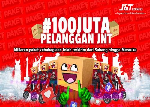 Wujud Syukur Capai 100 Juta Pelanggan, J&T Express Gelar Rangkaian Program ApresiasiBagi Pelanggan