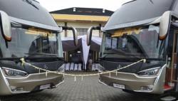 PT SAN Putera Sejahtera Tambah Tiga Bus Mercedes-Benz Baru